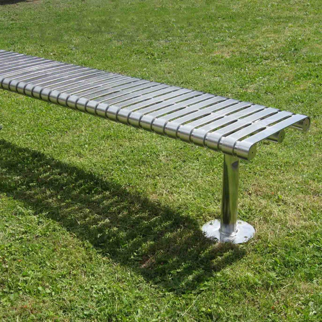 HM3010 Steel Slat Bench Thumbnail