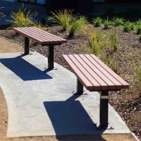 Standard Park Bench Mitred Commercial Systems Australia