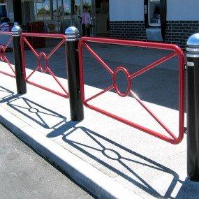 Circle Pedestrian Barrier
