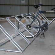 Angle Bike Rack