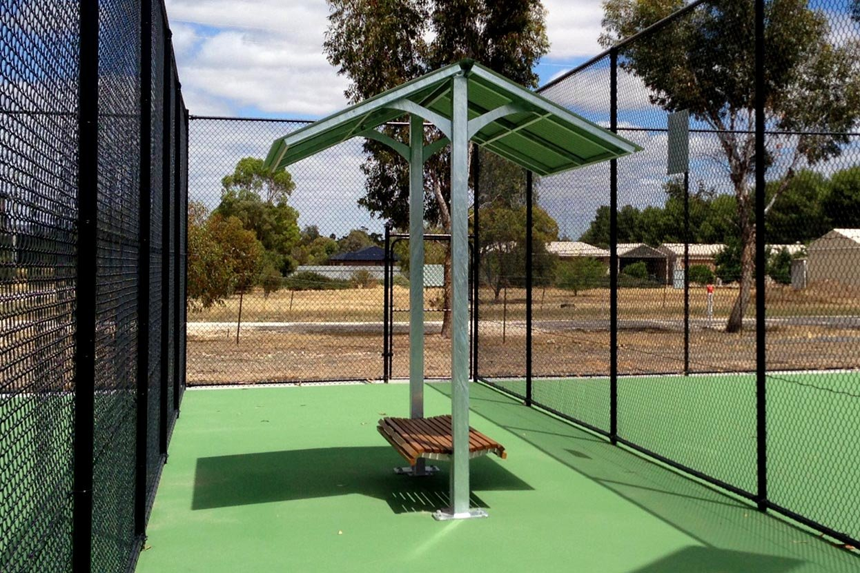 Tennis Court Shelter Commercial Systems Australia