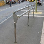 Bum Leaning Rail