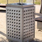 120 Litre Perforated Bin Enclosure