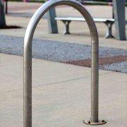 Bike Leaning Rail