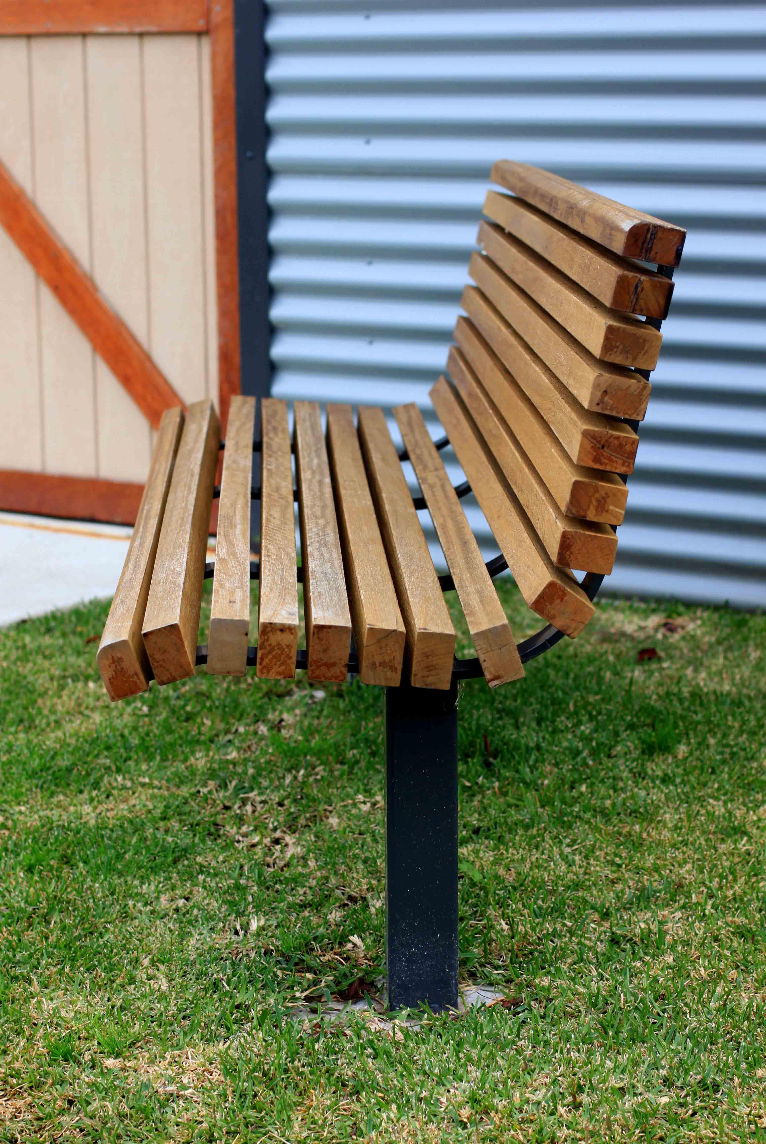 Vertical Slat Seat Commercial Systems Australia