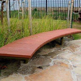 Berwick Curved Bench