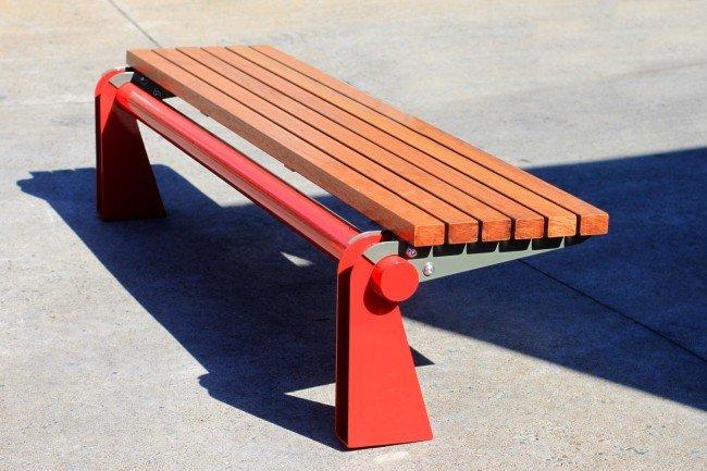 TM4611 (Australian hardwood timber, powdercoated top and base frames)