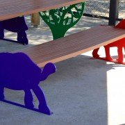 Zoo Bench