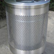 Stainless Perforated Litter Receptacle