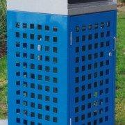 120 Litre Perforated Bin Enclosure