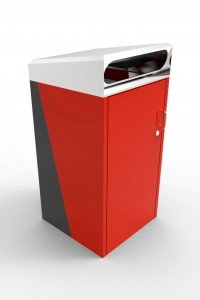 LR6600 Vivid Bin Enclosure (Powdercoated body, SSTF lid)