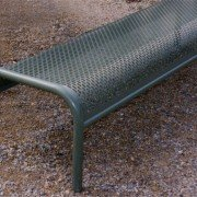 Perforated Bench