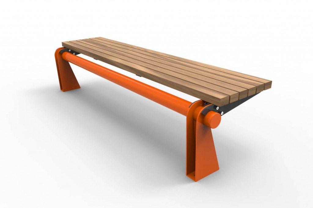 TM4611 (Powdercoated frame and legs, Australian hardwood timber)