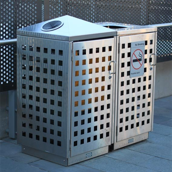 LR6158 120L Perforated Bin Enclosure