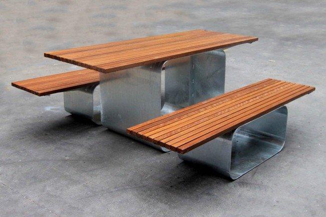 TM4632-31 (Australian hardwood timber,  galvanised frame)
