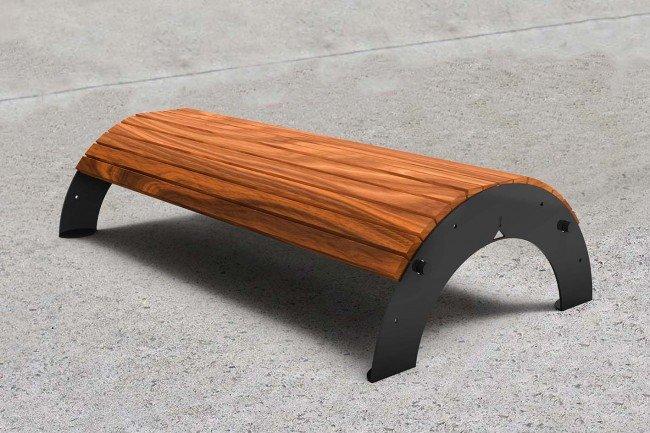 TM4650 (Australian hardwood timber,  powdercoated frame)